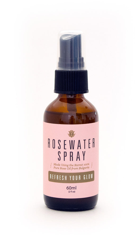 Rosewater Spray | Hydrate and Tone Face | Silky, Shiny Hair