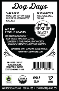 Dog Days - Rescue roasts