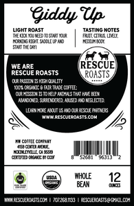 Giddy Up - Rescue roasts