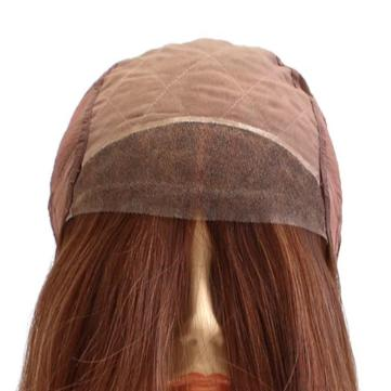 122 Tiffany - Hand Tied French Top Wig construction front