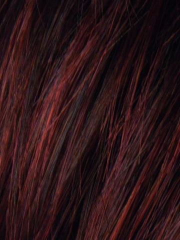 AUBURN ROOTED 33.130.4 | Dark Auburn, Bright Copper Red, and Warm Medium Brown Blend with Dark Roots