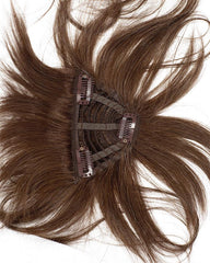 313F H Add-on, 3 clips by WIGPRO: Human Hair Piece