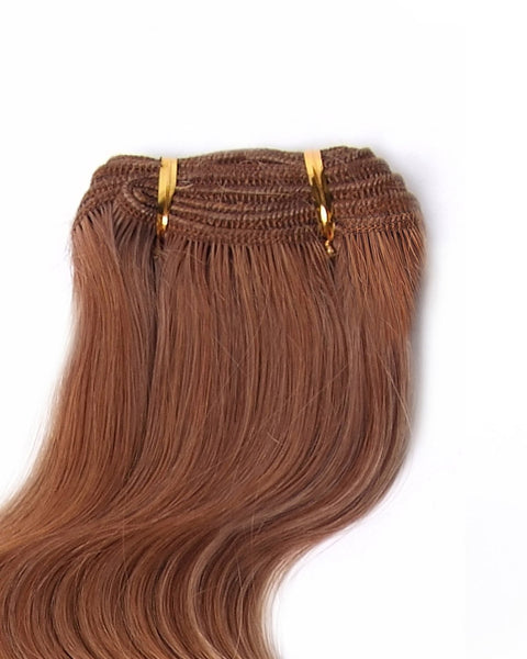 "18"" Super Remy Virgin Weft Human Hair Extension"