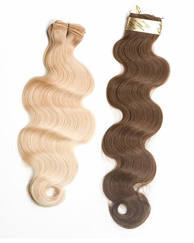 "20"" Baby Fine Wavy Weft Human Hair Extension"