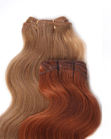 "18"" Baby Fine Wavy Weft Human Hair Extensions"