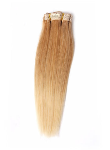 "12"" Clip-On Human Hair Extension"