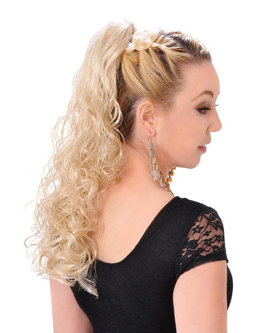 "20"" Clip- On  Ponytail"