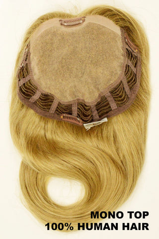 3/4 MAGIC Human Hair TOPPER