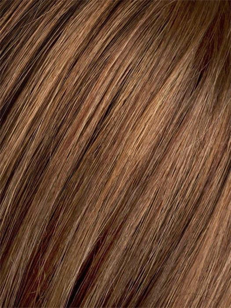 MOCCA ROOTED 830.12 | Medium Brown, Light Brown, and Light Auburn blend with Dark Roots