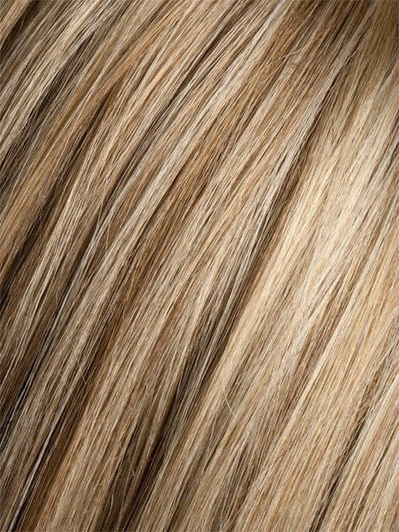 SANDY BLONDE ROOTED | Medium Honey Blonde, Light Ash Blonde, and Lightest Reddish Brown blend