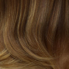 10/14T - Medium Golden Brown tipped w/ Honey Blonde
