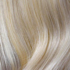 16/613 - Dark Golden Ash Blonde blended w/ Bleach Blonde