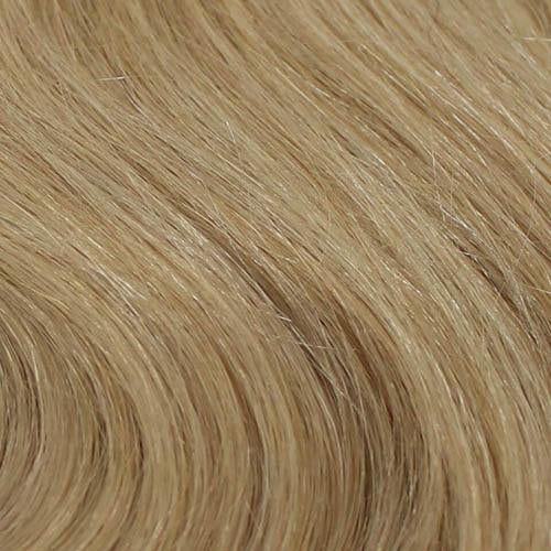 "14"" French Curl Super Remy Weft Human Hair Extension"