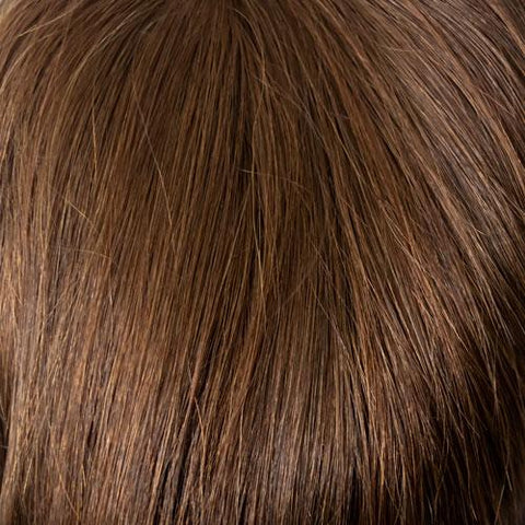 06/33 - Medium Chestnut Brown tipped w/ Dark Auburn