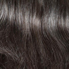 92 - Dark brown blended with 90% grey on top, gradually darkening to 50% grey at ends