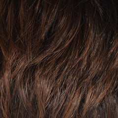 Ginger Brown - DarkBrown, Medium Chestnut Brown highlighted  w/ Medium Golden Brown