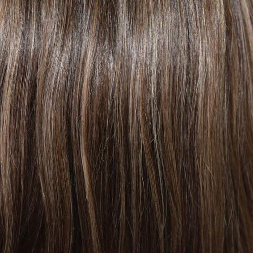 Rocky Road - Chestnut Brown base, highlighted with Ash Blonde