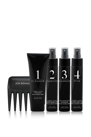 Jon Renau 5 piece synthetic travel kit