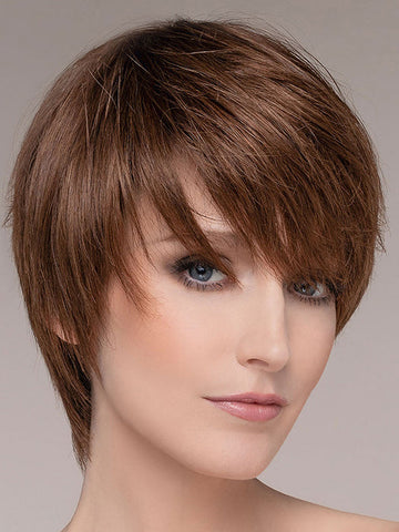 AWARD by ELLEN WILLE in CHOCOLATE MIX | Medium to Dark Brown base w/ Light Reddish Brown highlights