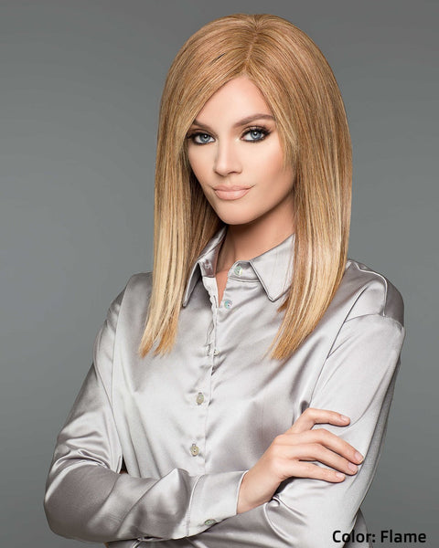 101 Adelle Hand-Tied Mono-top - Flame - Human Hair Wig