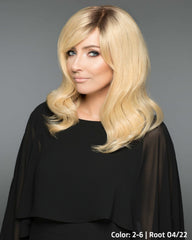 101 Adelle Hand-Tied Mono-top - 02-6 | Root 04/22 - Human Hair Wig