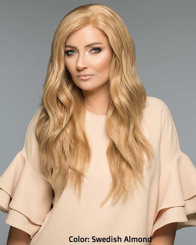 105A AmberII H/T - Hand-Tied - Swedish Almond - Human Hair Wig