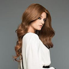 105 Amber - Mono-Top Machine Back - 06/30T - Human Hair Wig