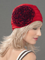 FLORA by ELLEN WILLE in WINE RED