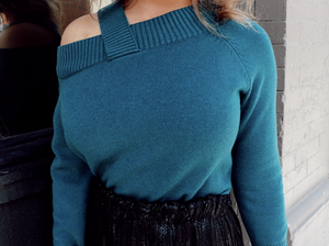 Sneak Peek in Teal