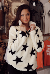 Starry Sherpa in White