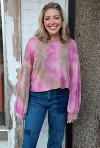 Tie Dye Dreams in Pink