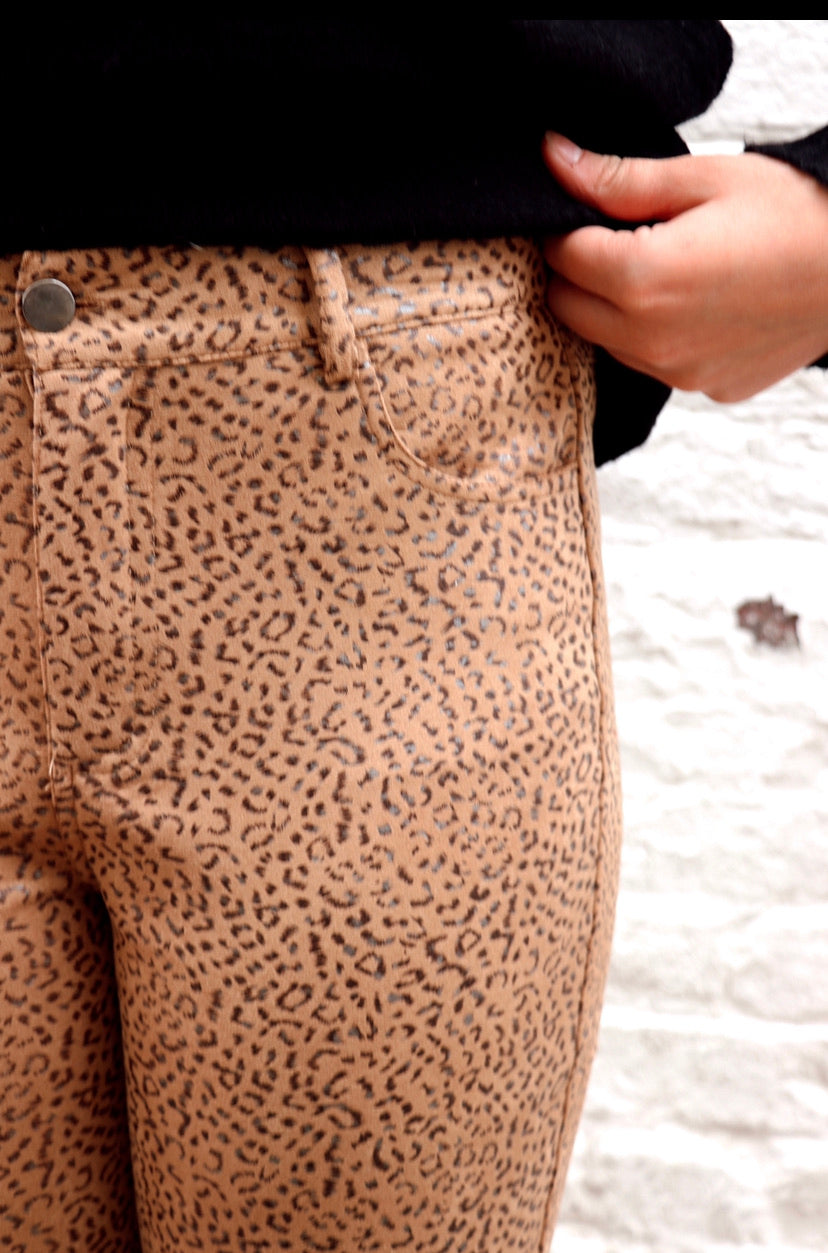 Living in Leopard Brown