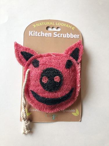 Natural Loofah Kitchen Scrubber