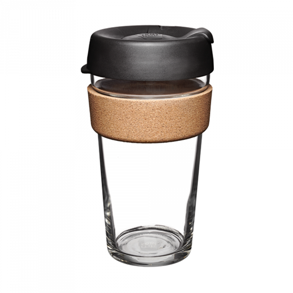 KeepCup Glass Brew Cork 16oz.