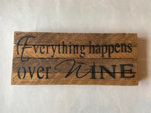 Reclaimed Wood Sign 6x14""