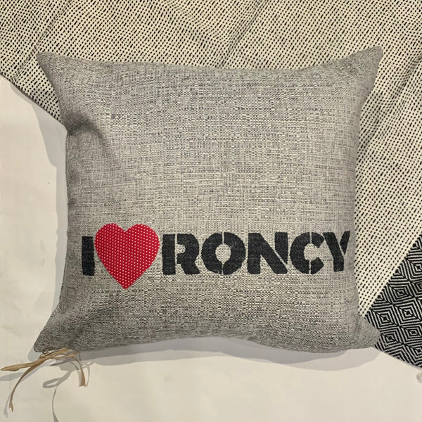 I ❤️ Roncy Pillow