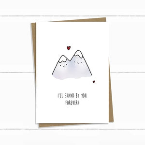 Baun Bon Card - Love/Encouragement (Mountains)