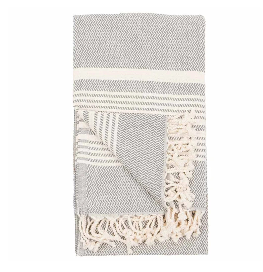 Pokoloko Turkish Towel - Hasir Mist