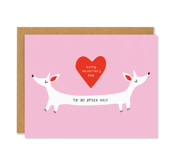 Badger and Burke Card - Valentine