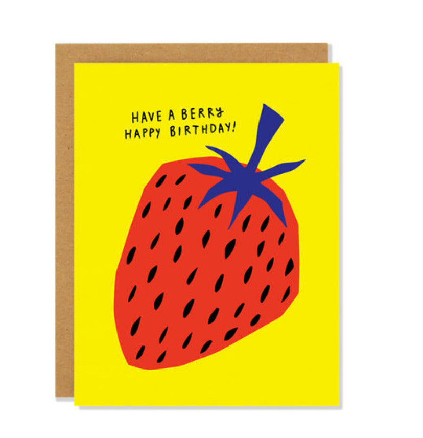 Badger and Burke Card - Birthday