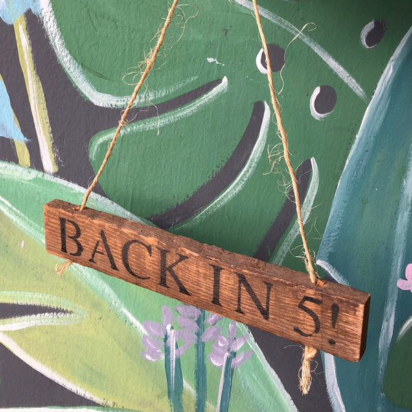 Wood Hanging Signs