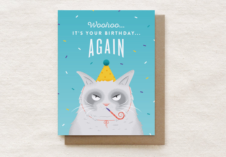Quirky Paper Co Card - Birthday