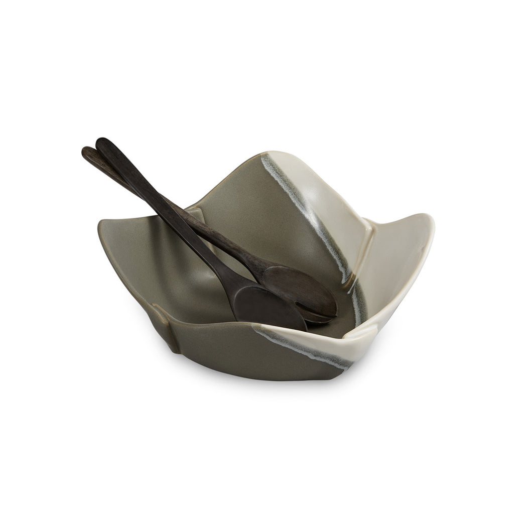 Hilborn Ceramic Square Bowl