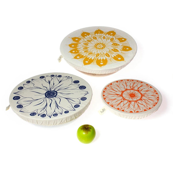 Large Halo Dish Covers - Set of 3