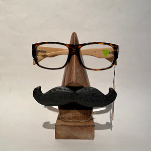 Mango Wood Eyeglass Holder