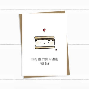 Baun Bon Card - Love (S'mores)