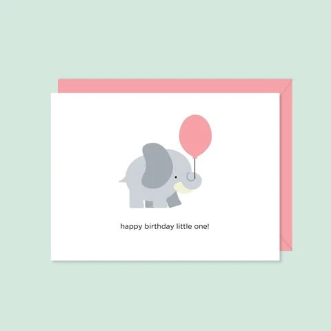 Halifax Paper Hearts Card - Child's Birthday