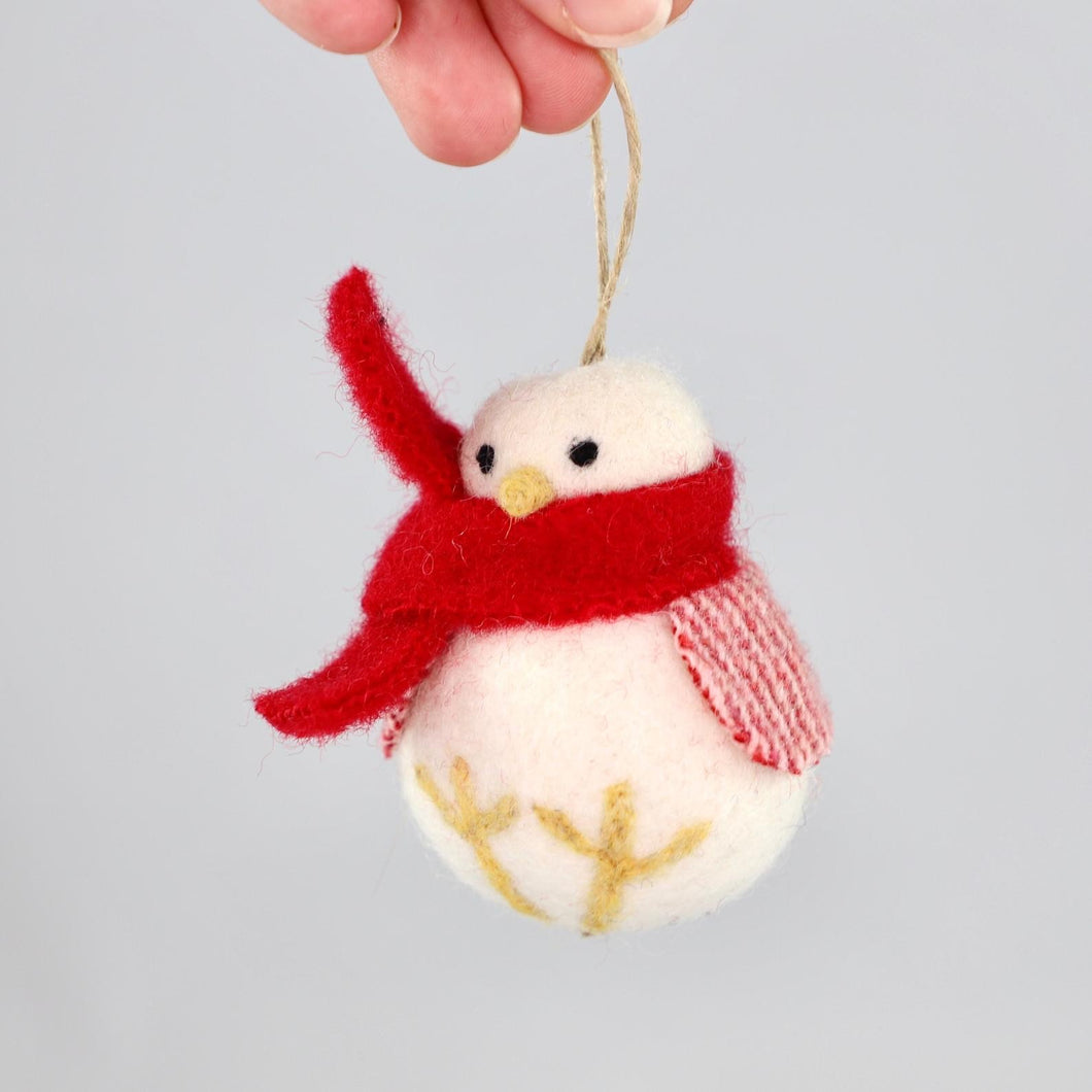 Felted Wool Ornament - AmberGoesViolet
