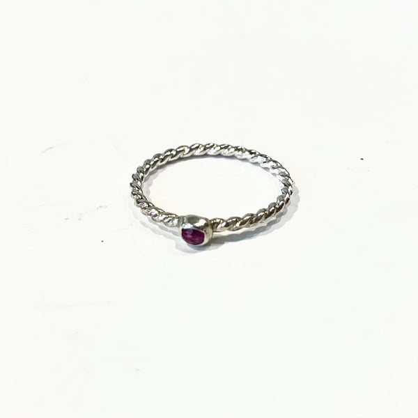 Slashpile Reclaimed Rings - Ruby