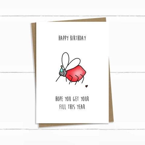Baun Bon Card - Birthday (Mosquito)